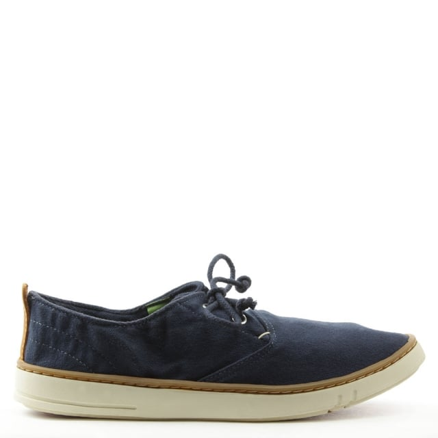 Earthkeepers Hookset Navy Canvas Lace Up Shoe