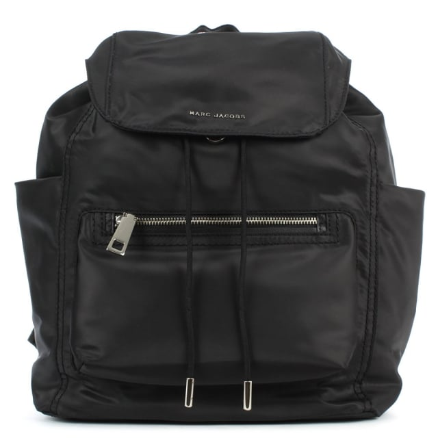 Easy Black Front Pocket Backpack