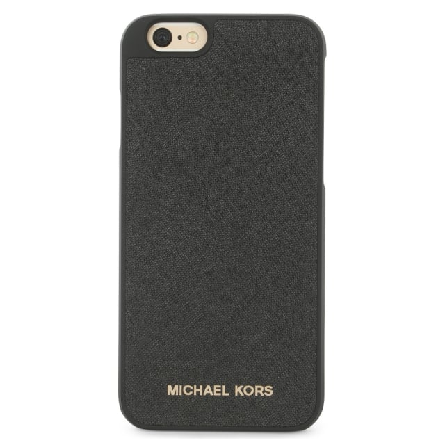Electronics Black Leather iPhone 6/6s Case