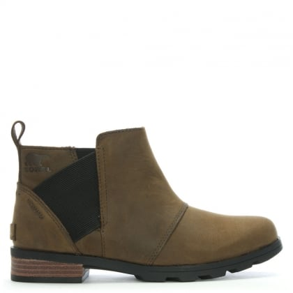 Emelie Brown Suede Chelsea Boots