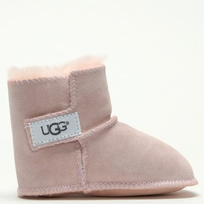 Erin Baby Pink Twinface Baby Boots. Sale