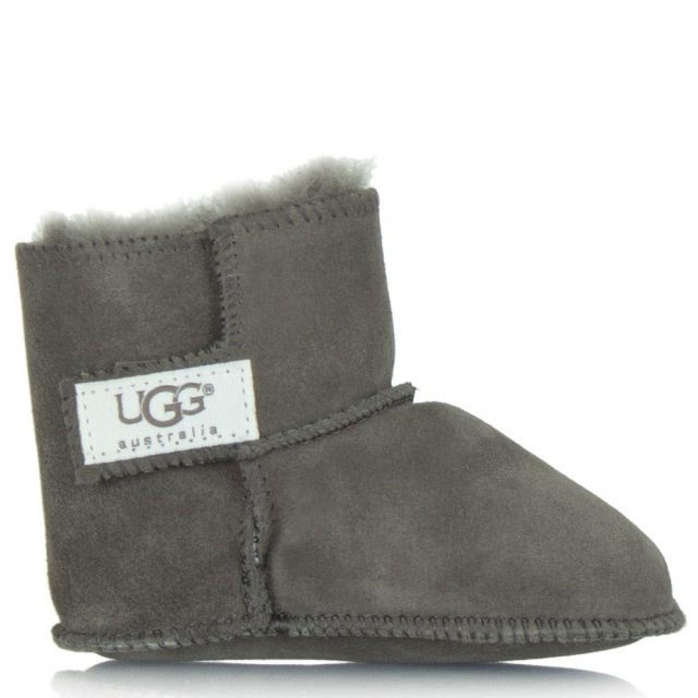 041eba7ccf1 Erin Grey Soft Suede Baby Boot