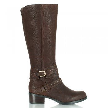 Esplanade Brown Leather Calf Boot