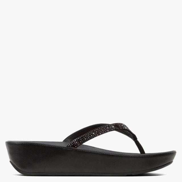 FitFlop Linny Crystalled Back Leather