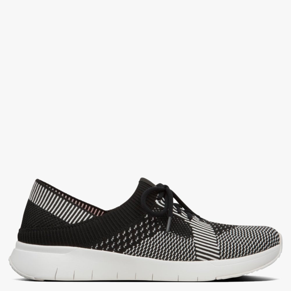 FitFlop Marble Black \u0026 Charcoal Knitted