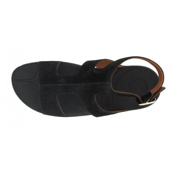 653fdb5f024f0 FitFlop Arena™ Black Women s Low Wedge Sandal