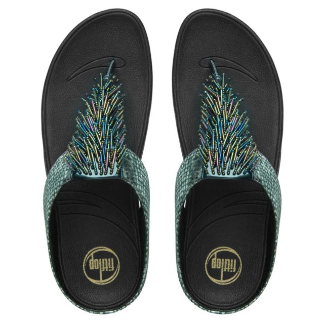 0c0791a1a FitFlop™ Cha Cha Jungle Beaded Women s Flip Flop