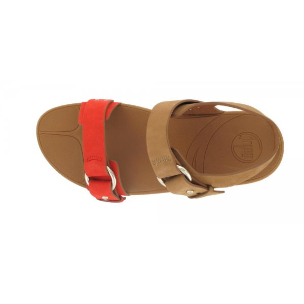 2a4f19452 FitFlop Via ™ Bar Tan Flame Women s Toning Sandal