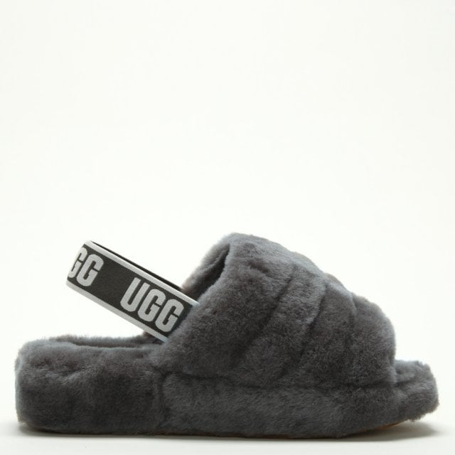 ugg fur sliders