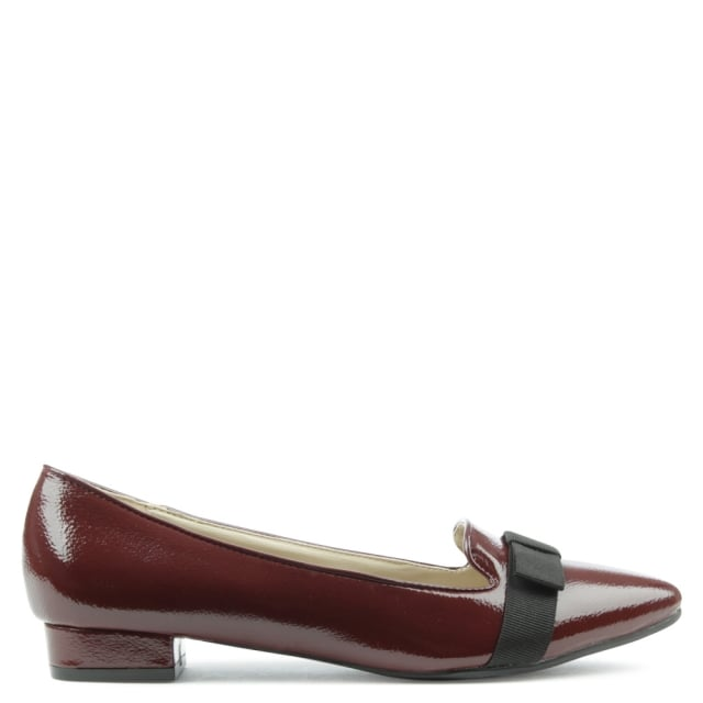 Foss Garth Burgundy Pointy Pump