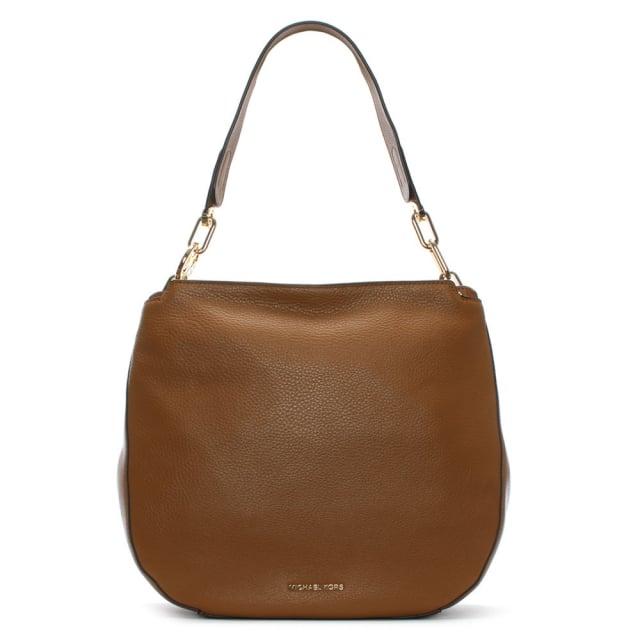 6bb75e587b94da Michael Kors Fulton Acorn Pebbled Leather Hobo Bag