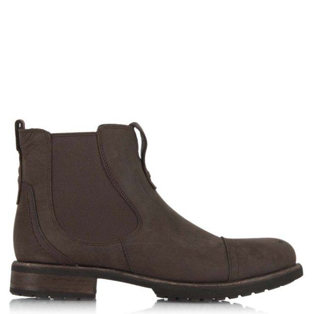 7cfc1631258 Gallion Men's Grizzly Leather Chelsea Boot