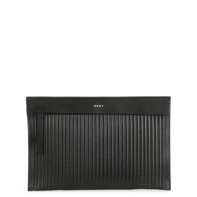 Gansevoort Black Leather Pouch
