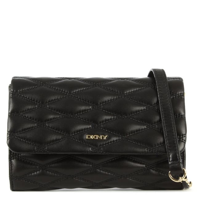 Gansevoort Quilted Black Nappa Leather Cross-Body Bag
