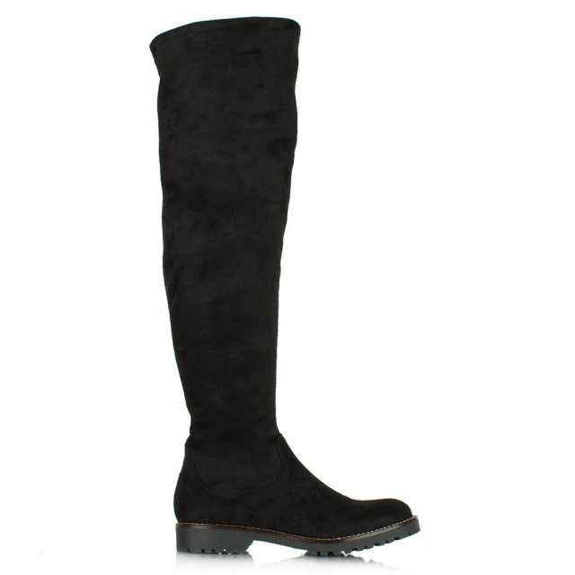 Gerius Black Over Knee Boots