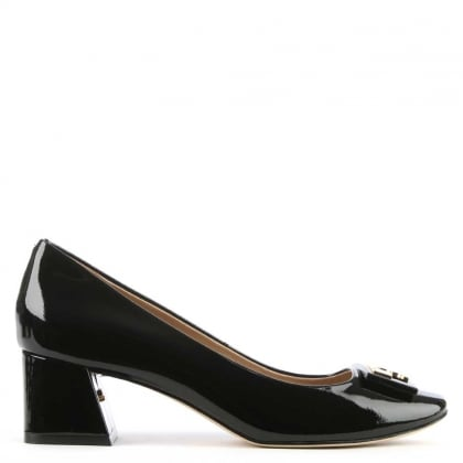 Tory Burch Gigi Black Patent Leather 50MM Pump