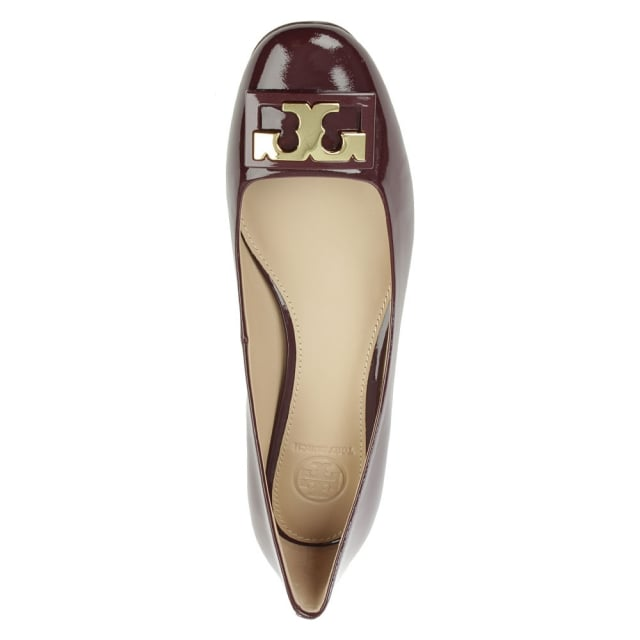 a7b1d0e9b Home · Women  Gigi Burgundy Patent Leather Block Heel Pump. 360 Image -  Drag to Rotate. Tap image to zoom. Sale. Free ...