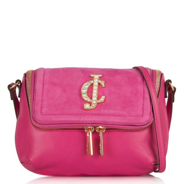 Glam Couture Cross-body Pink Bag