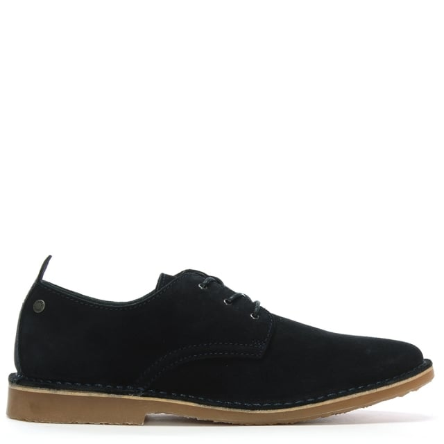 Jack & Jones Gobi Navy Suede Desert Shoes