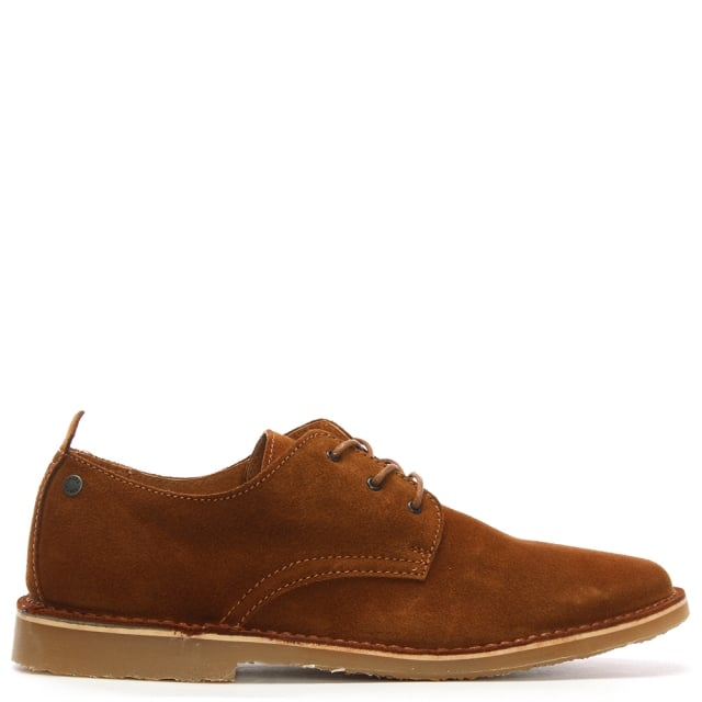 Jack & Jones Gobi Tan Suede Desert Shoes