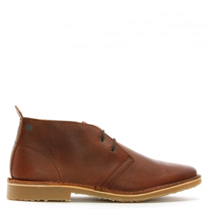 Gobi Tumbled Brown Leather Desert Boots