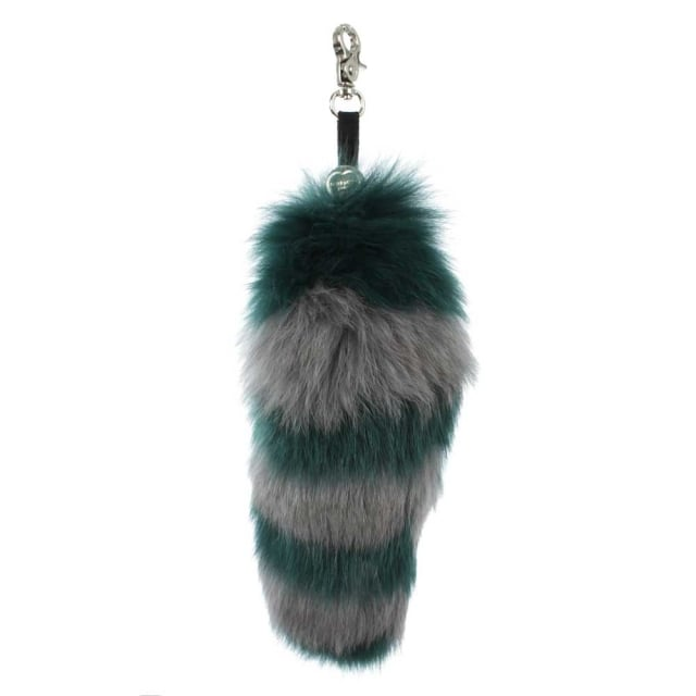 Goody Gumdrops Green Fur Keyring