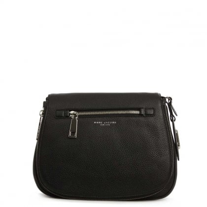 Gotham City Black Saddle Bag