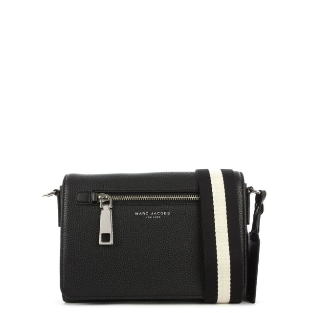 Marc Jacobs Gotham City Small Black Leather Shoulder Bag