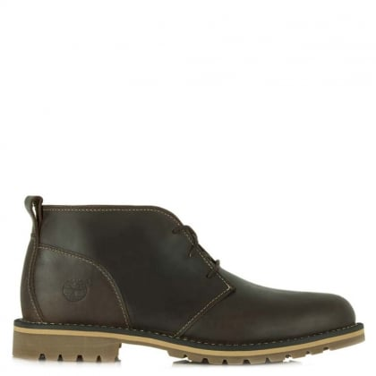 Grantly Chukka Brown Leather Ankle Boot
