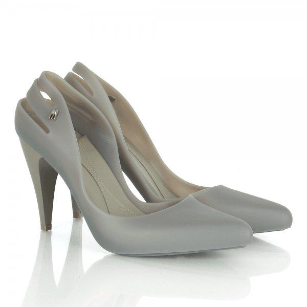 f8415c1d92eb Melissa Grey Matt Classic Heel Women s Court Shoe