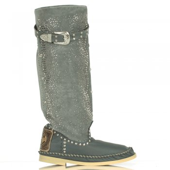 Grey Microborchiato Alto Women's Ibiza Boot