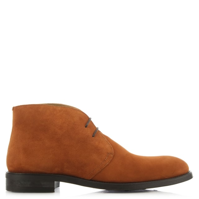 Austin Reed Hallas Tan Suede Desert Boot