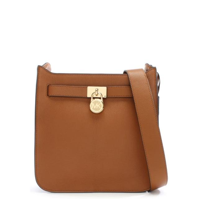 c347fec3d4e1e3 Michael Kors Hamilton Acorn Leather Messenger Bag