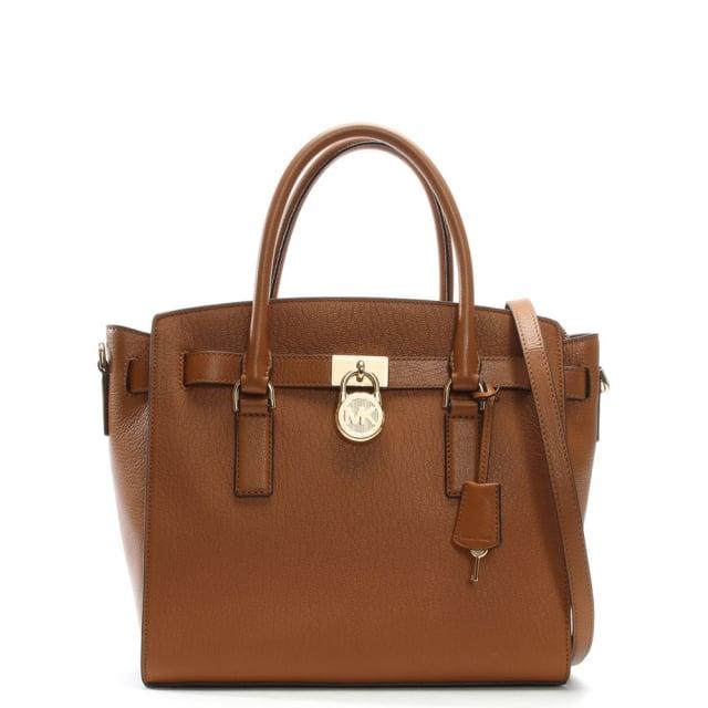 Hamilton Acorn Leather Satchel Bag