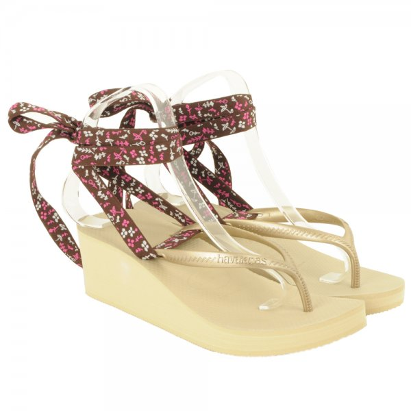 a6d7bf615c87 Havaianas Gold Cyclone Women s Wedge Sandal