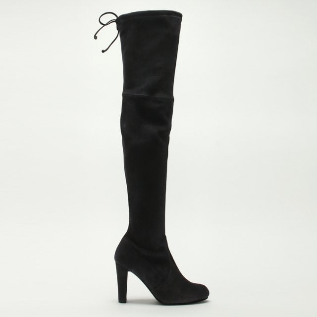 c5c7f8ff795 Stuart Weitzman Highland Grey Suede Over The Knee Boots