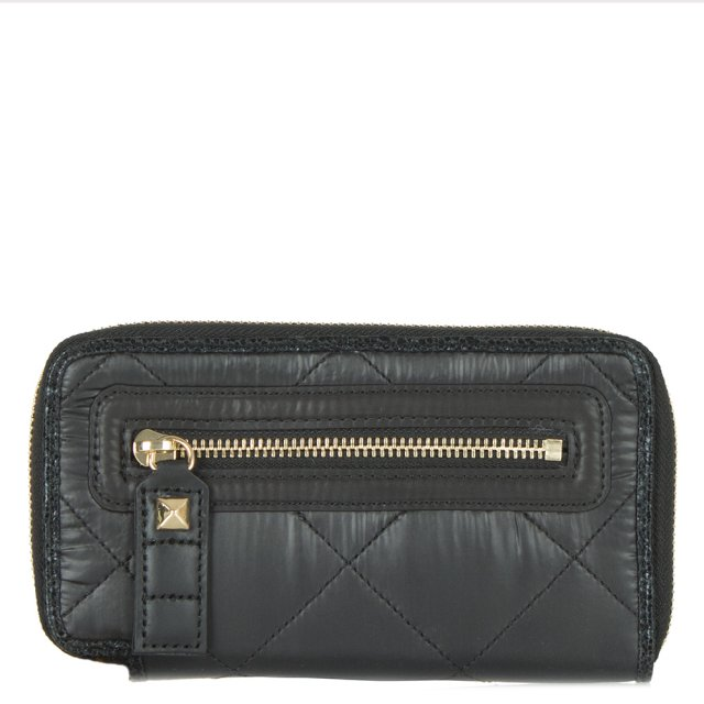 Hollywood Continental Black Wallet