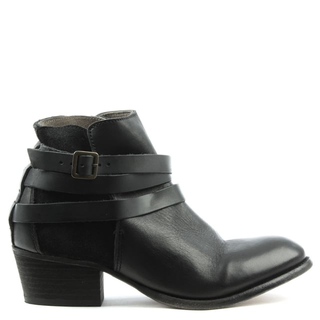 Horrigan Black Suede Ankle Boot