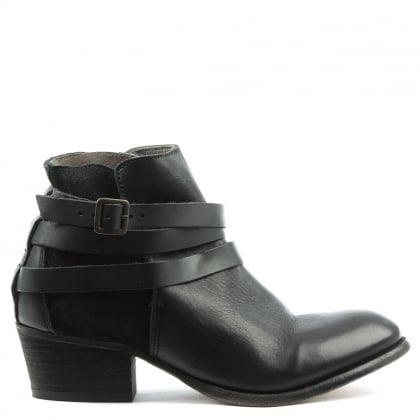 Hudson Horrigan Black Suede Ankle Boot