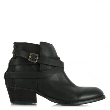 Hudson Horrigan Black Leather Ankle Boot