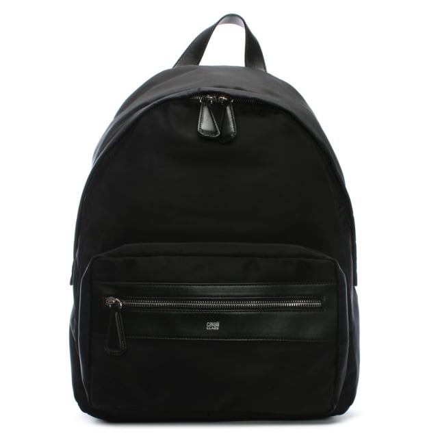 Cavalli Class Hunter Black Nylon Backpack