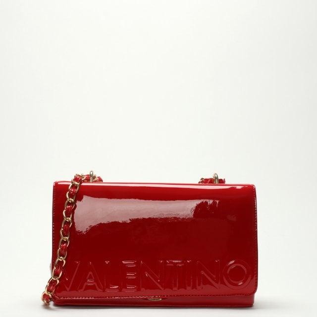 197231988 Valentino By Mario Valentino Icon Red Logo Shoulder Bag