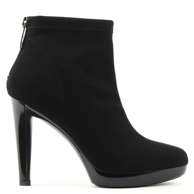 Ingleton Back Stretch Fabric Ankle Boot