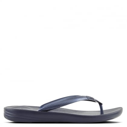 Iqushion Midnight Navy Toe Post Flip Flop
