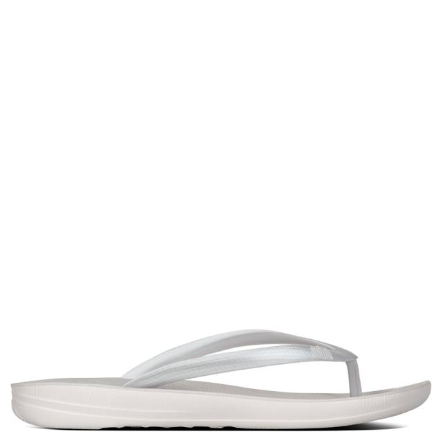 Iqushion Silver Toe Post Flip Flop