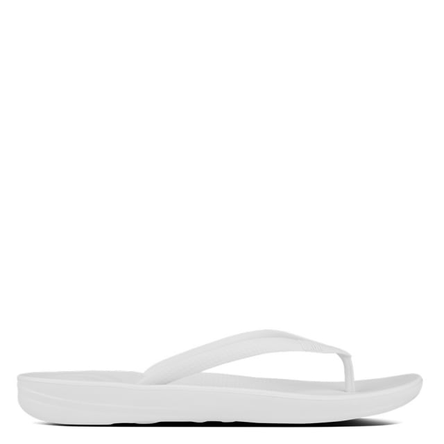 Iqushion White Toe Post Flip Flops