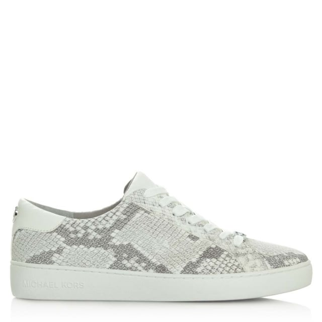 Irving Lace Up Natural Reptile Trainer