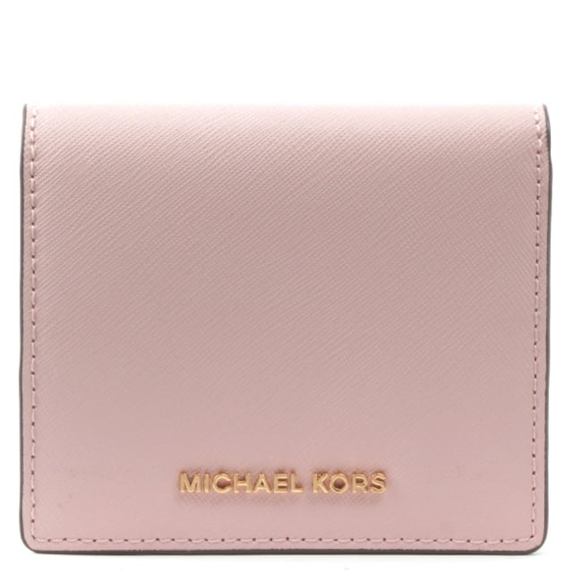 eb1c5c5df66e Michael Kors Jet Set Carryall Blossom Saffiano Leather Wallet