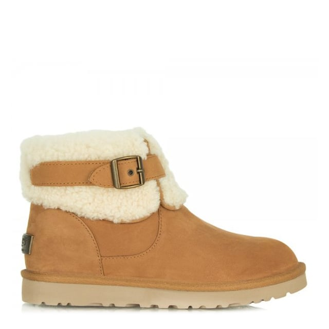 Jocelin Tan Suede Ankle Boot