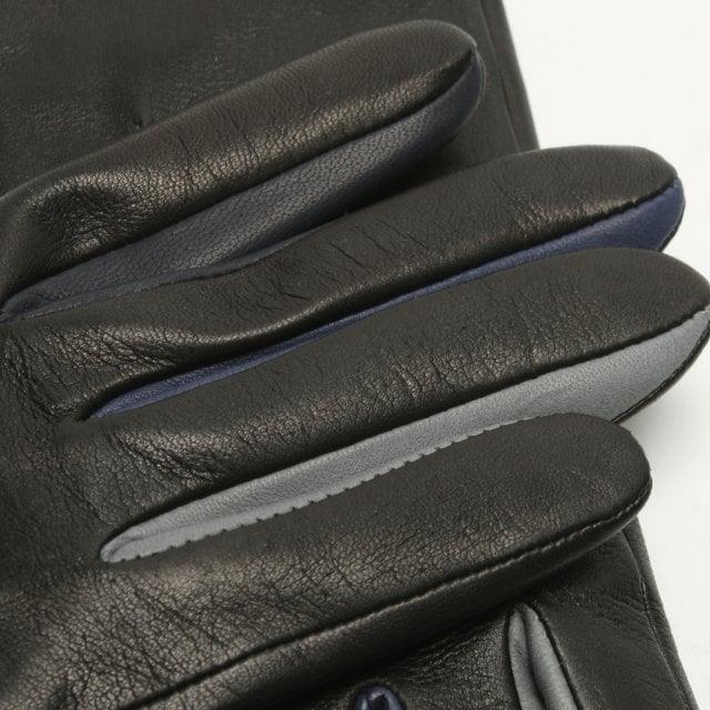 b338720b5a9d Agnelle Julie Multi Black Leather Gloves